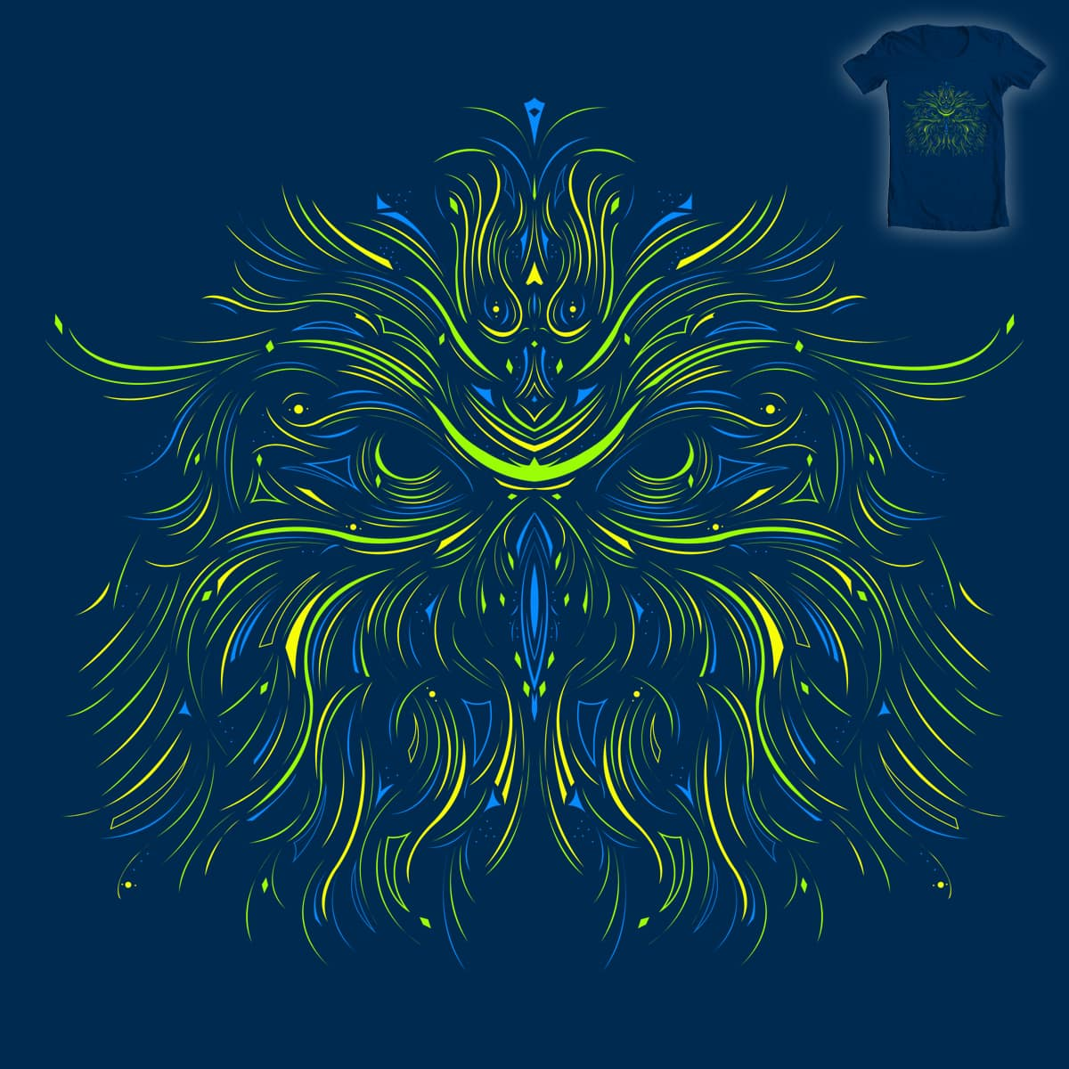 Opticowl by Evan_Luza on Threadless