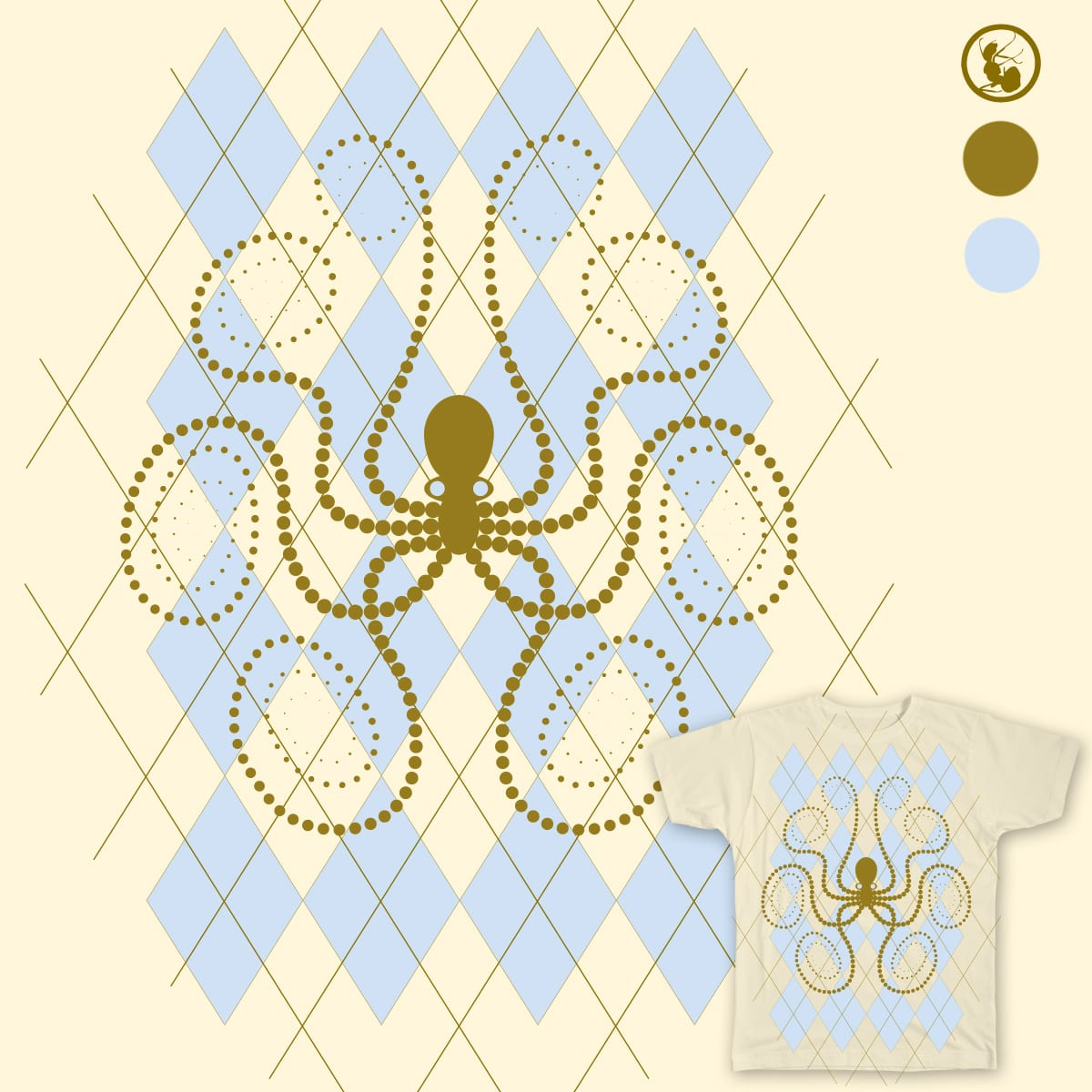 Argylopus by AuntSpray on Threadless