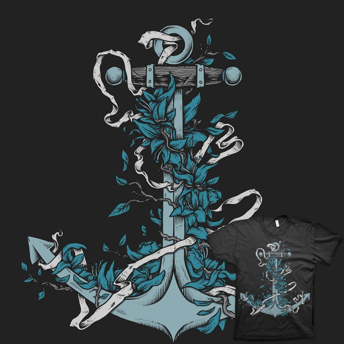 Anchor by BeadlerWorks on Threadless