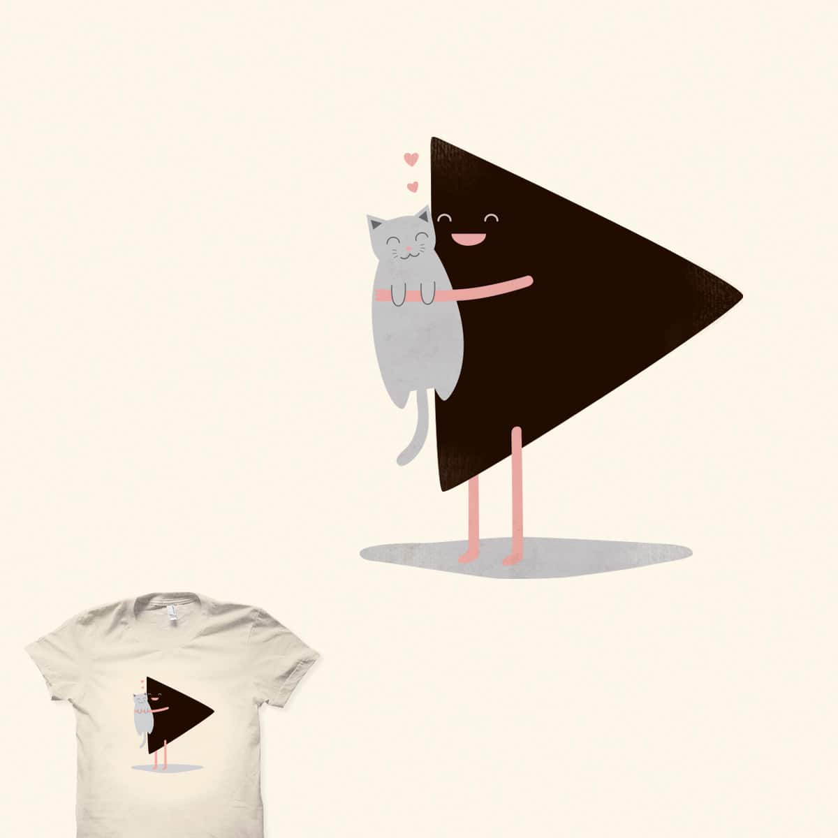 A cute triangle by GemmaDesigns on Threadless