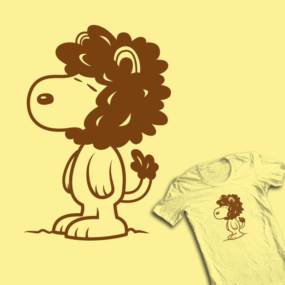 Isnoop Lion  by krisren28 on Threadless