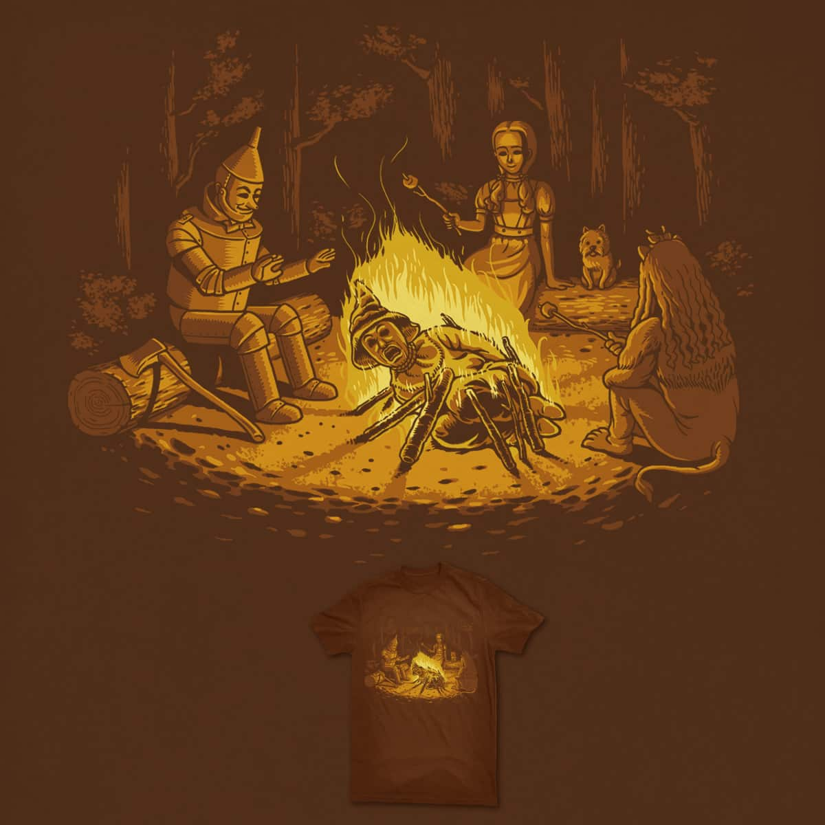 Campfire by ben chen on Threadless