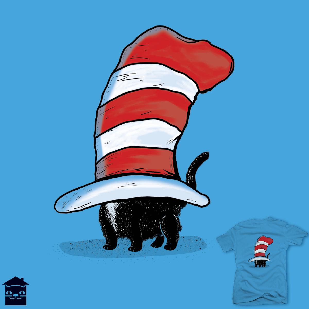 HAT CAT by JIMDAHOUSECAT on Threadless