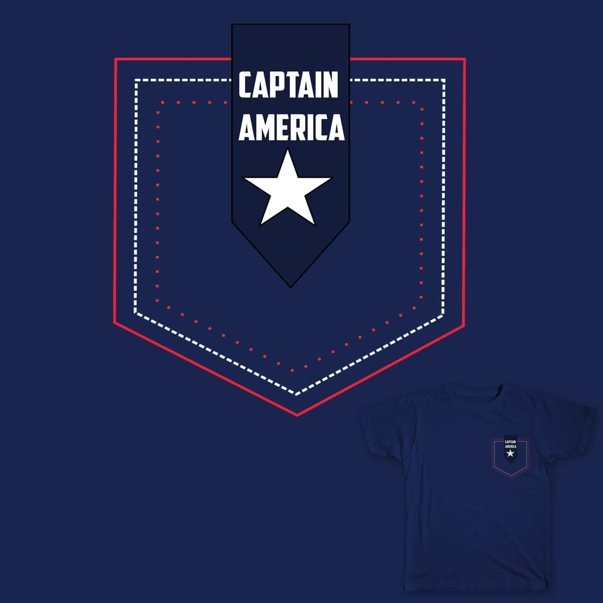 American Pocket by Muzaffar Keen on Threadless