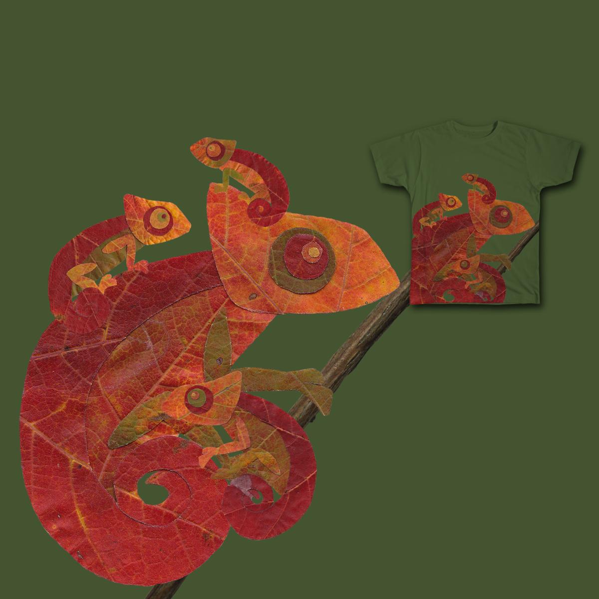 Chameleon Foliage by toru10 on Threadless
