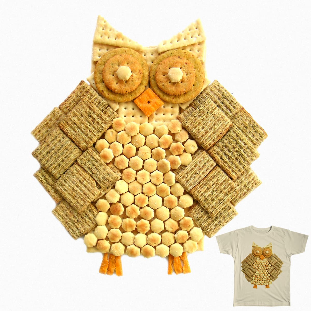 Wise Cracker by AnthonyMoore on Threadless