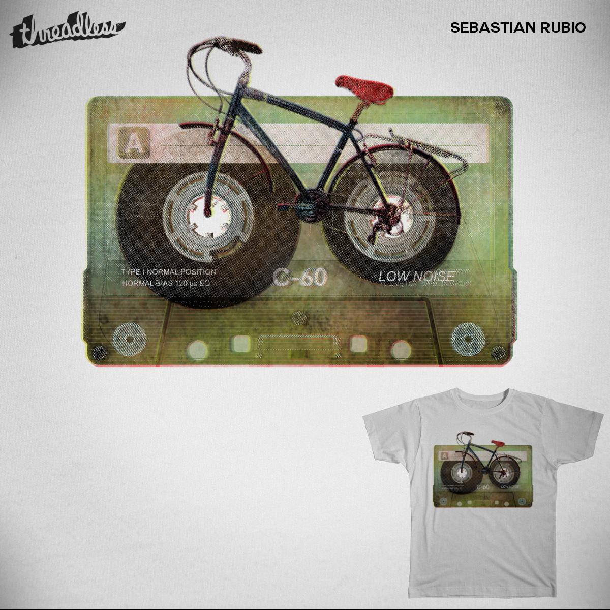 Bikassette by sebastianblonde on Threadless