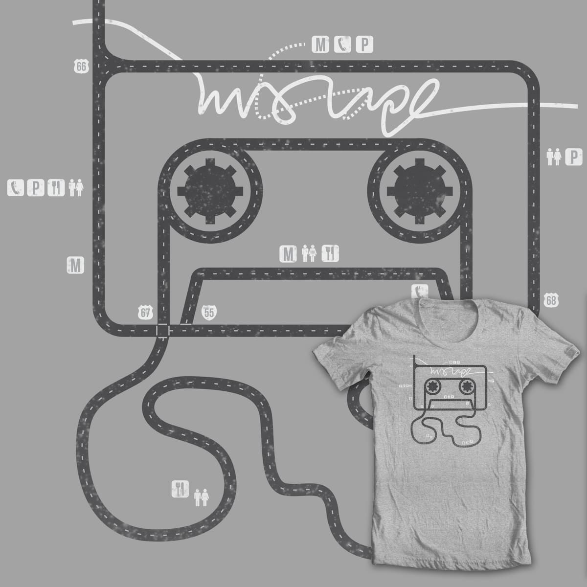 grand tape auto by mip1980 on Threadless