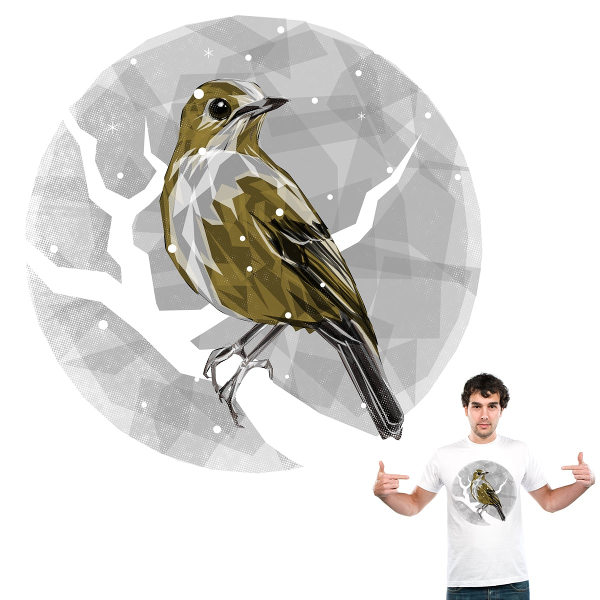Perched by Joe Conde on Threadless