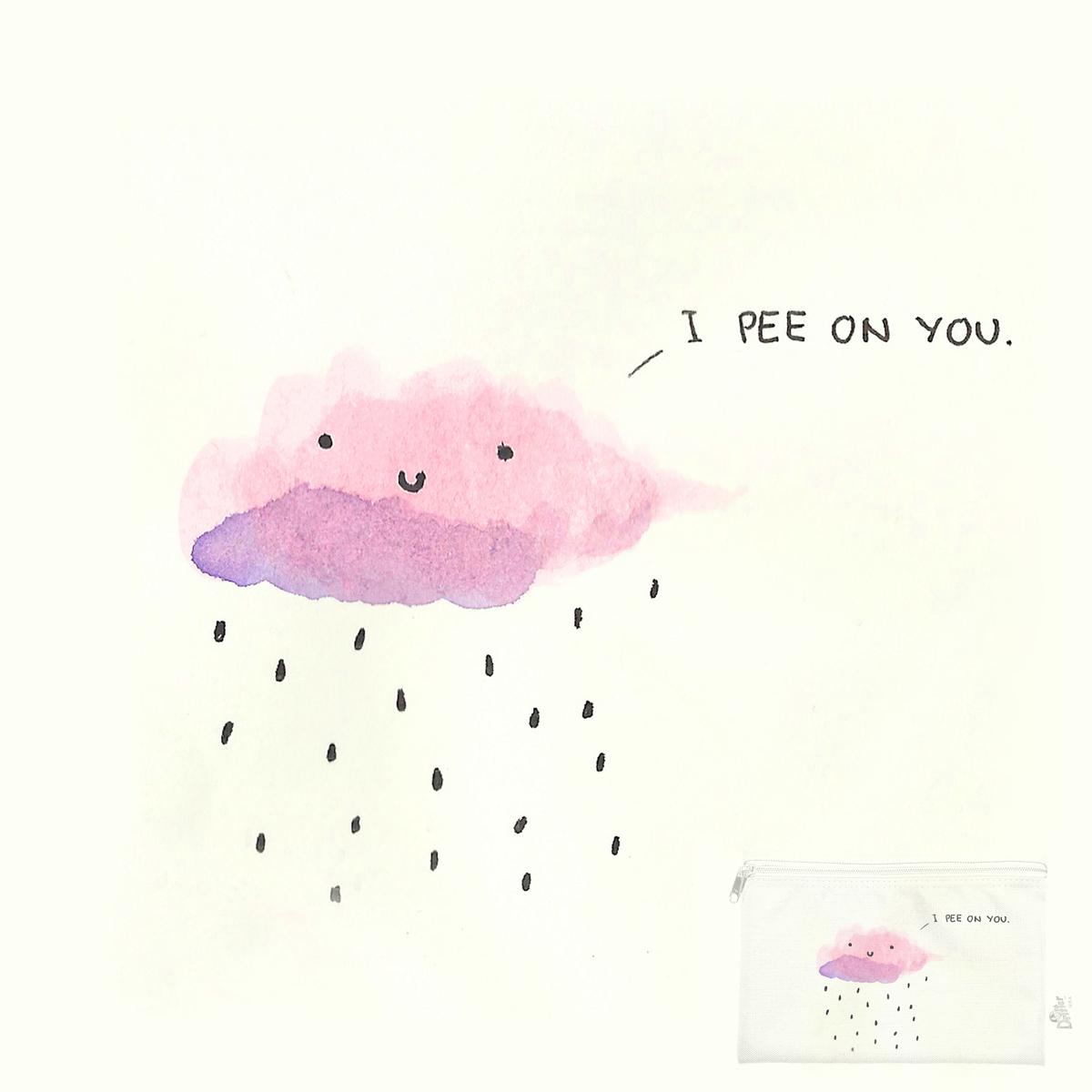 I pee on you by Alba Blazquez Fernandez on Threadless