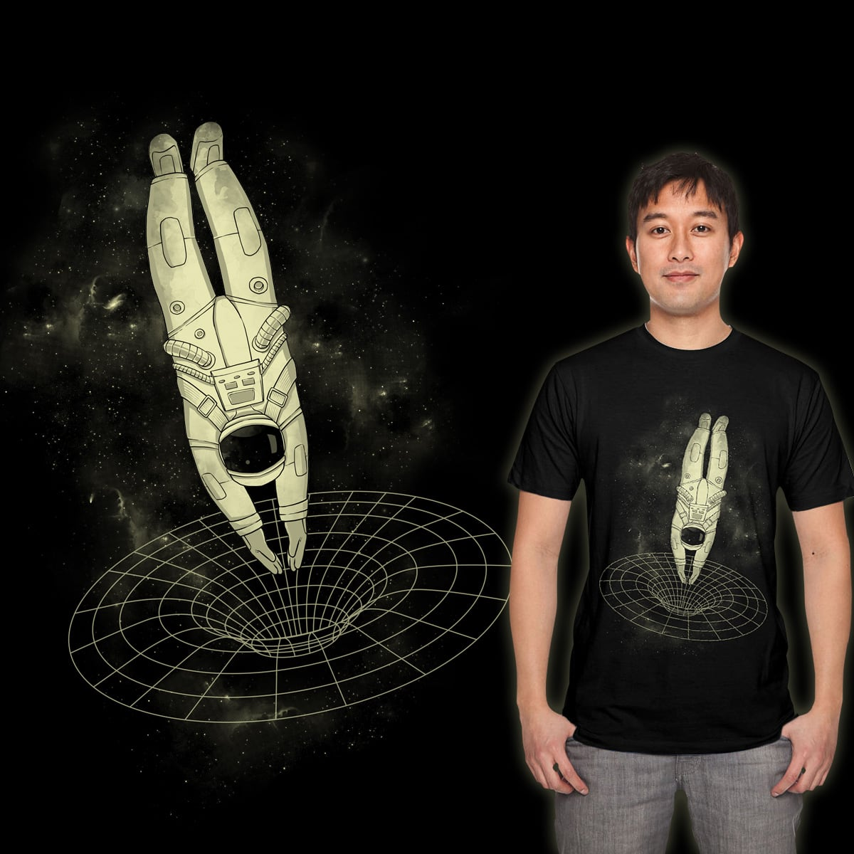 Wormhole Dive by azrhon on Threadless