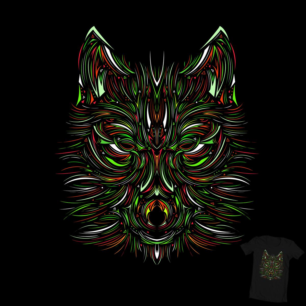 Wolfie by Evan_Luza on Threadless