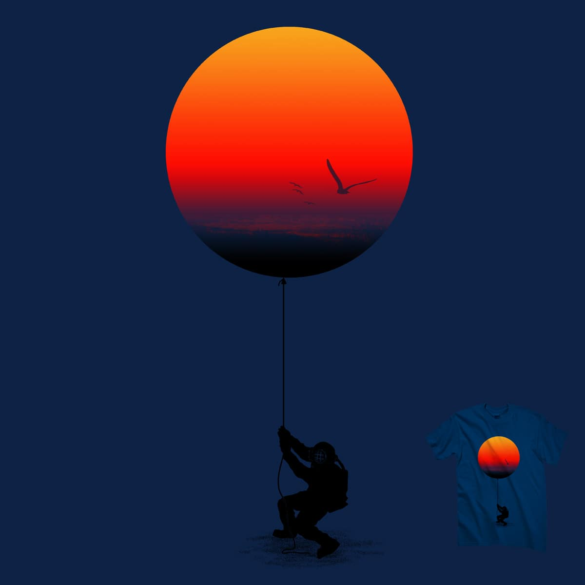I give you the sunset by kooky love on Threadless