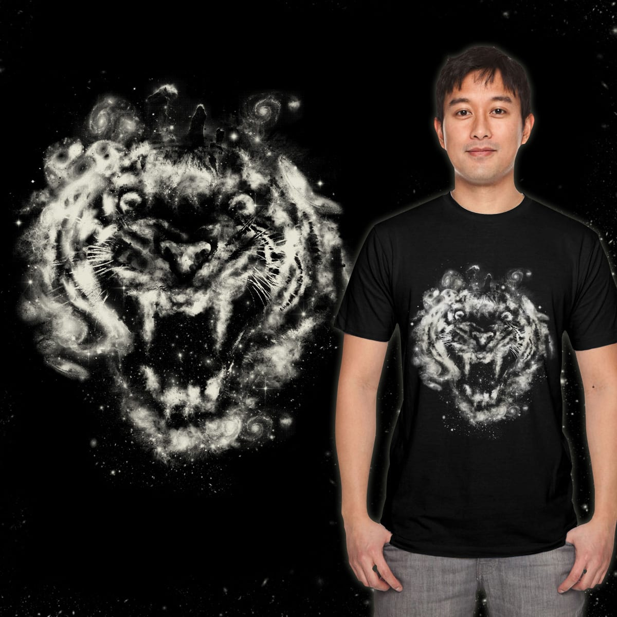 Wild Galactic Cluster by azrhon on Threadless