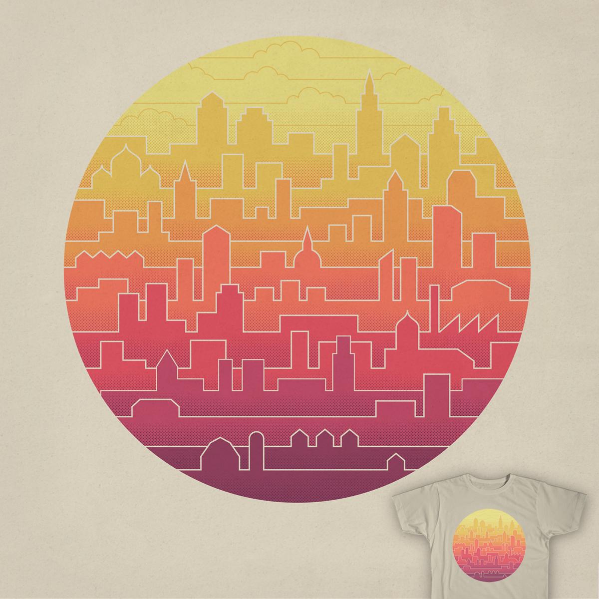 Skyline by ThePaperCrane on Threadless