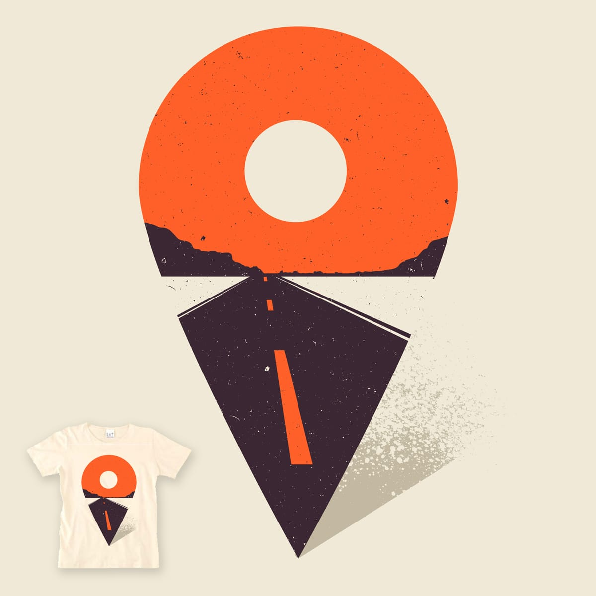 my current location by campkatie on Threadless
