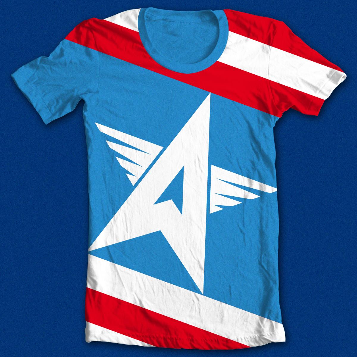 MinimAmerica#3 by kreadid on Threadless