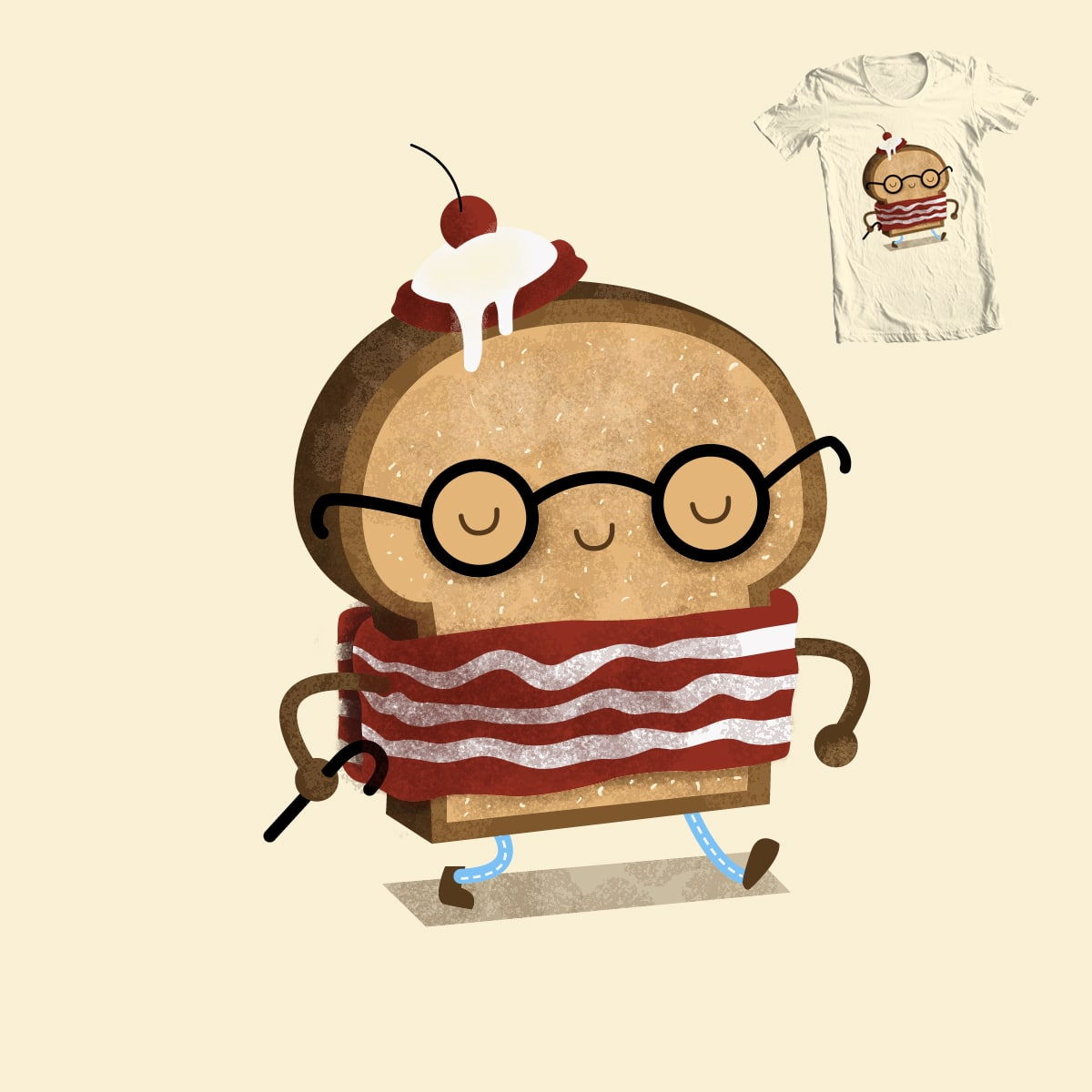 Where is my breakfast? by M-e-p on Threadless
