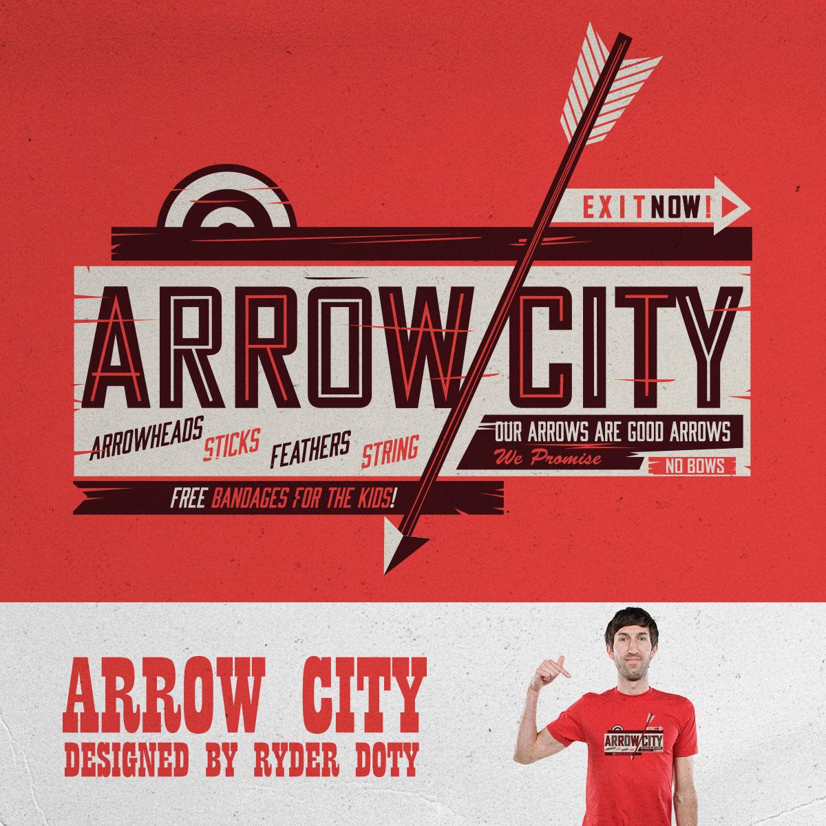 ARROW CITY by Ryder on Threadless