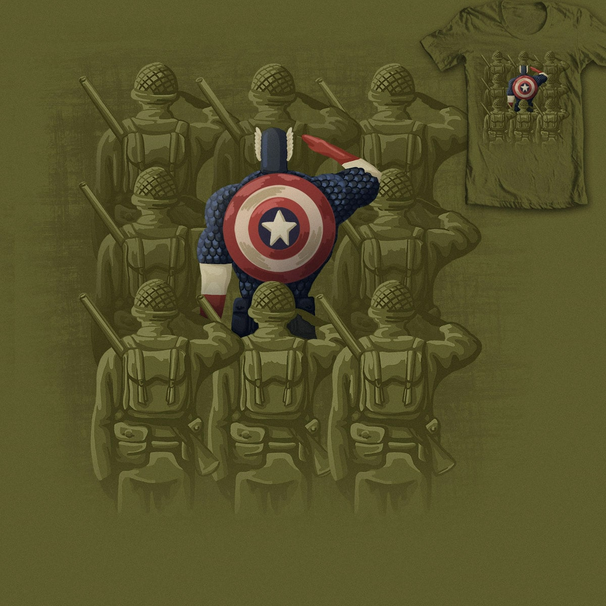 Support Our Troops by Kellabell9 on Threadless