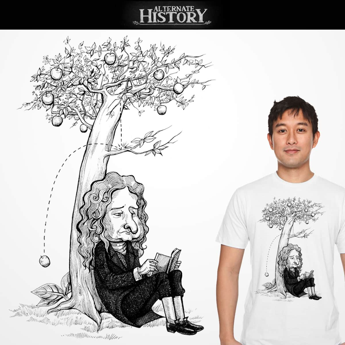 Inspiration lost! by orionchampadiyil on Threadless