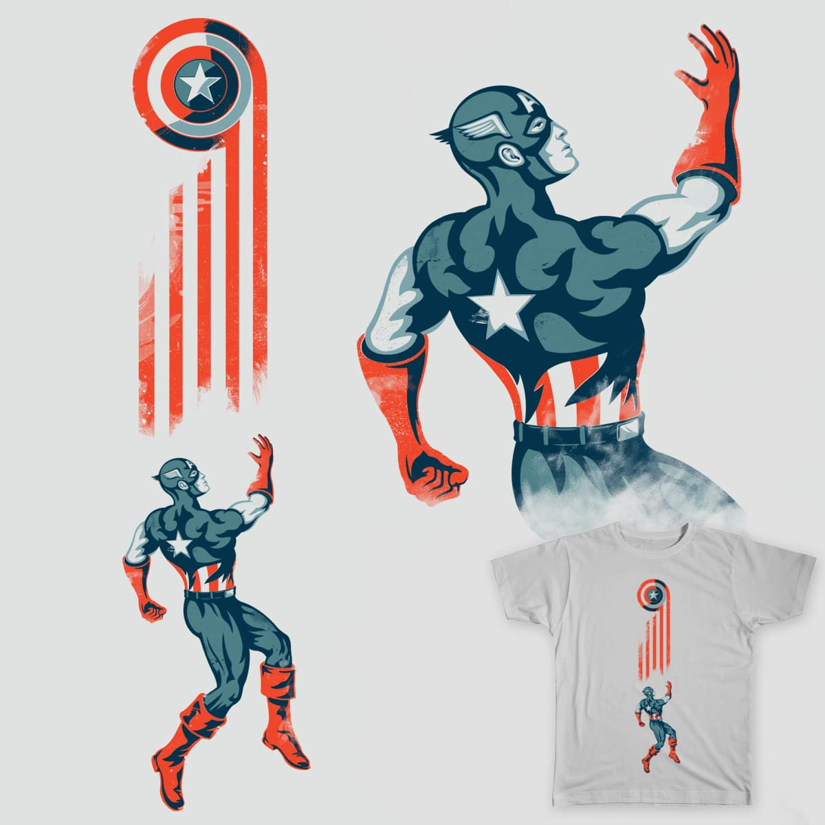 Captains Stripes by cpdesign on Threadless