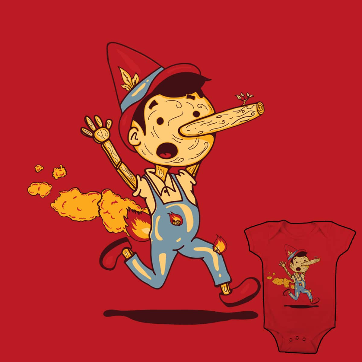 Liar! Liar! Pants on Fire! by be Ray on Threadless