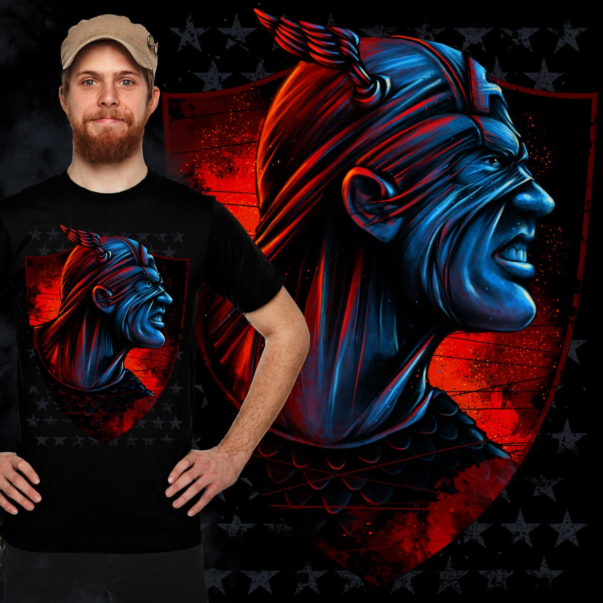 Heroic Intensity by Kristoval on Threadless