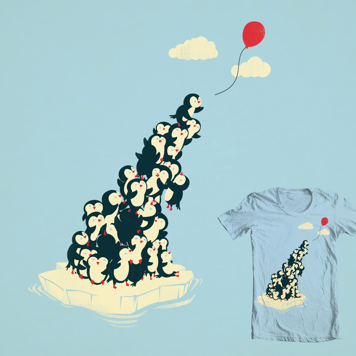 Balloon! by DontCallMeBlanket on Threadless