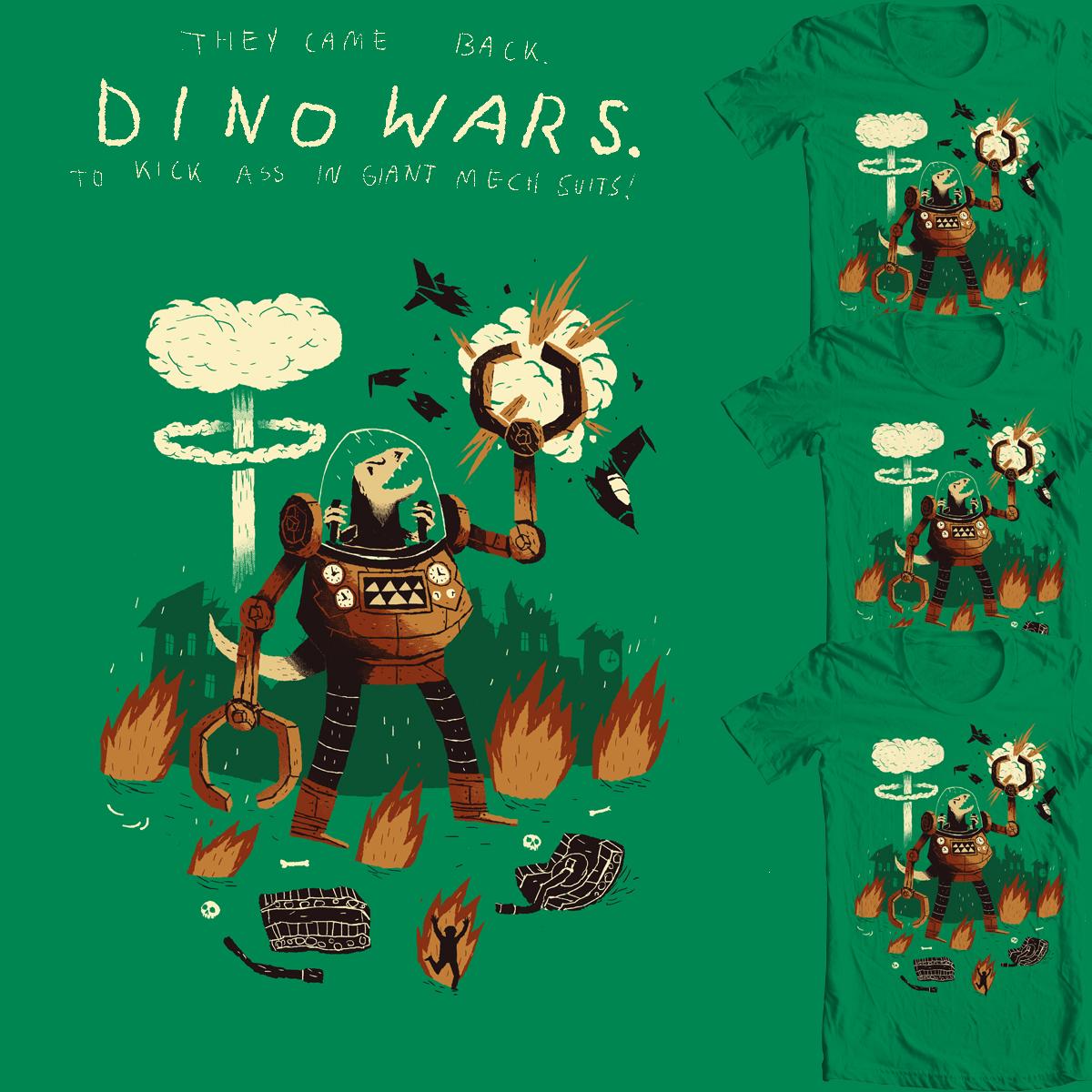 dino wars. by louisroskosch on Threadless