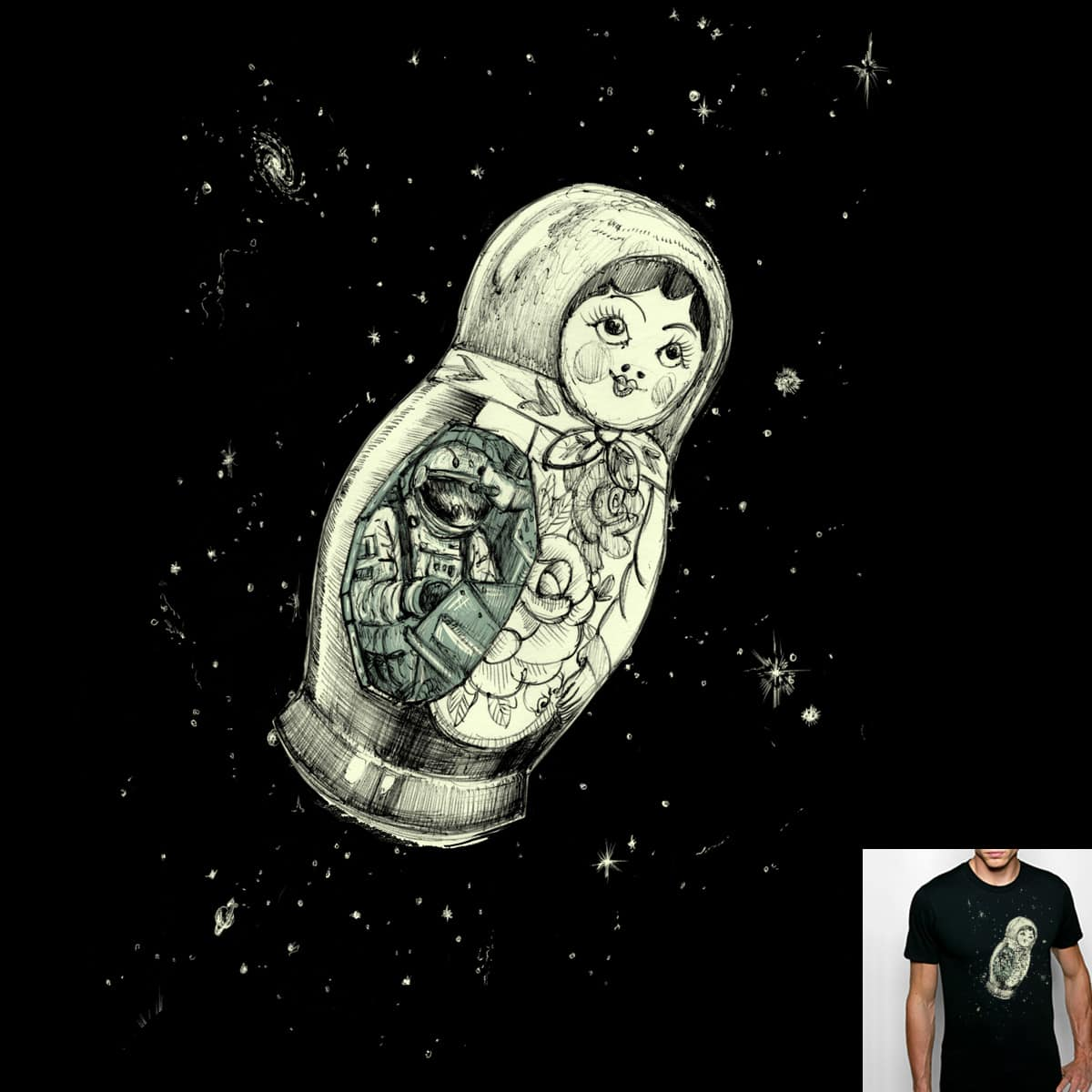 Cosmonaut by danrule on Threadless