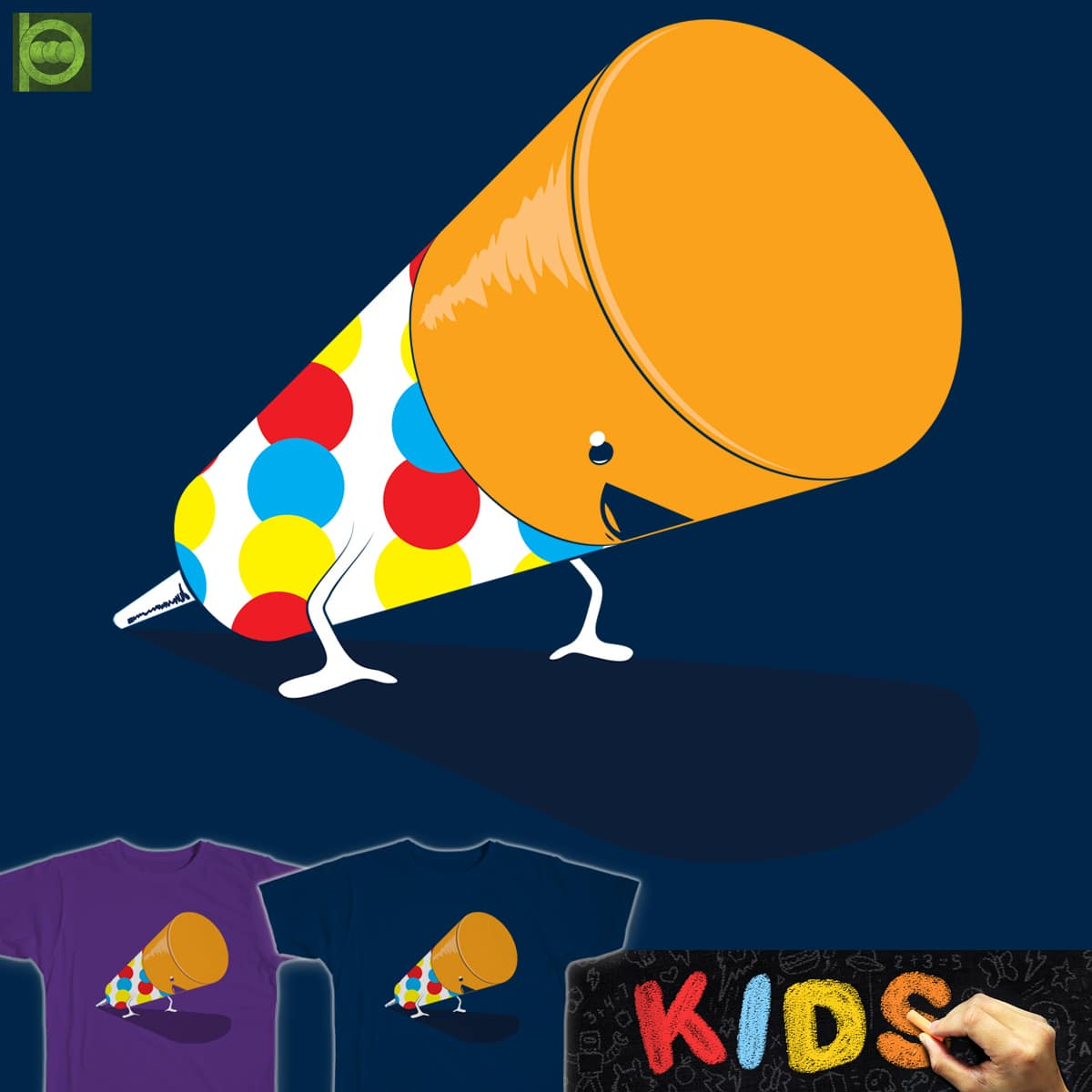 PUSH-UP by BeanePod and rossmat8 on Threadless