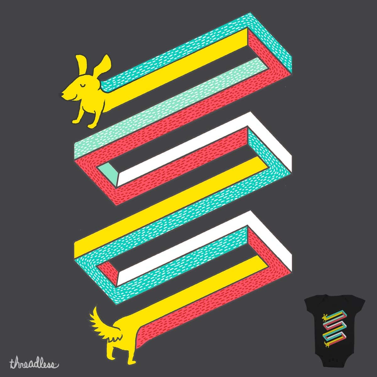 I'm Impossible! by hellofromthemoon on Threadless