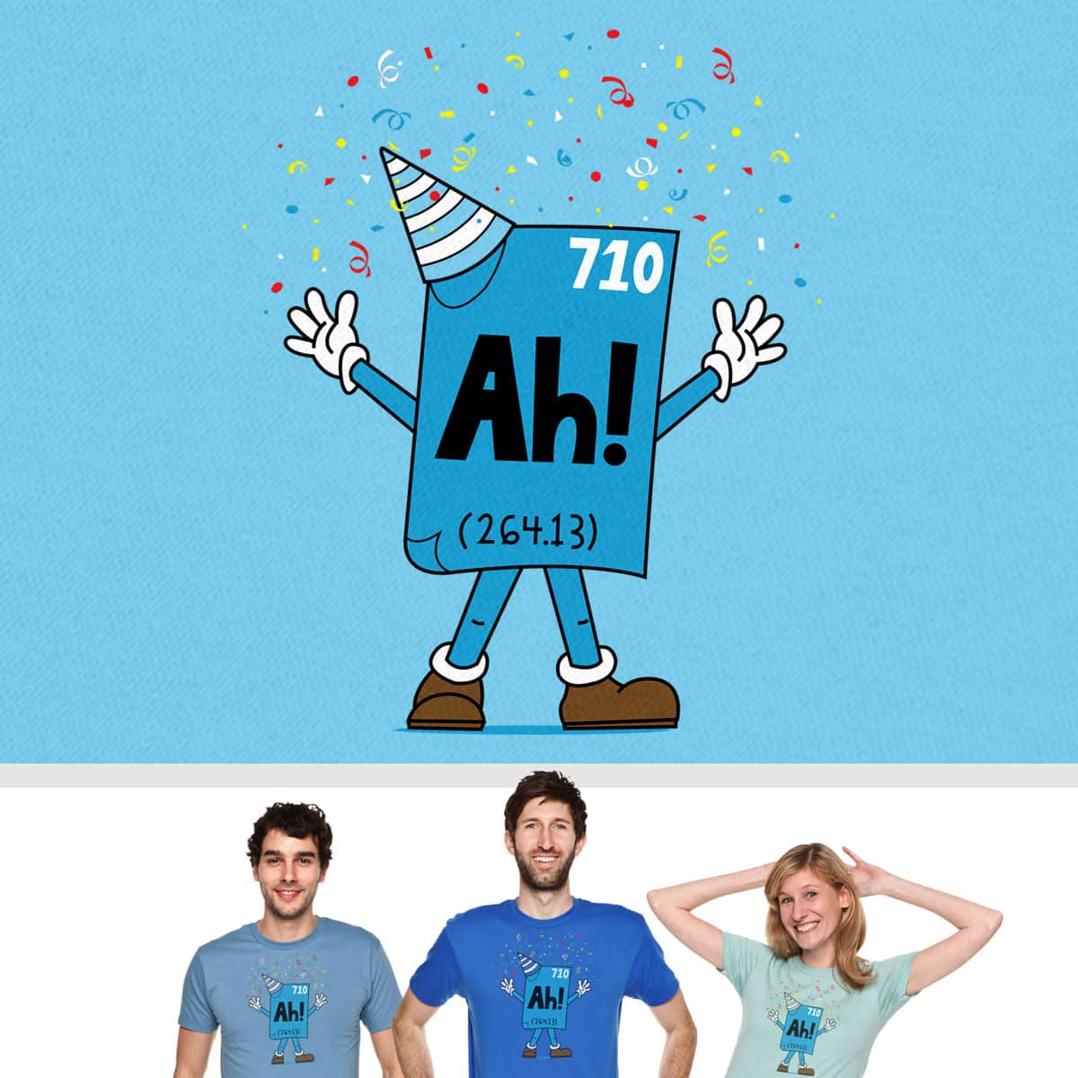 The Element of Surprise by SteveOramA on Threadless