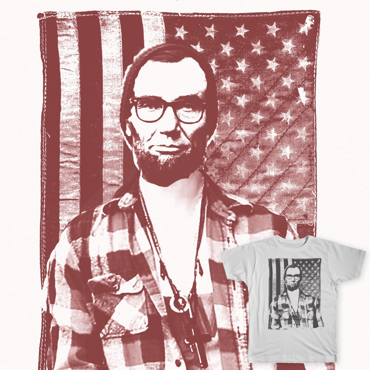 Abe Couturier by abpositivedesign on Threadless