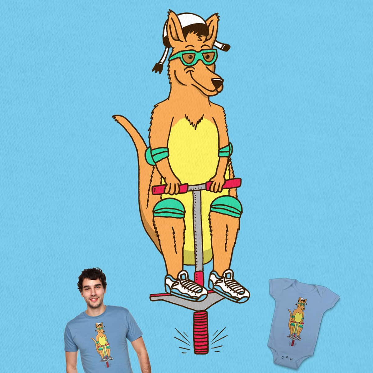 In Training by SteveOramA and rossmat8 on Threadless