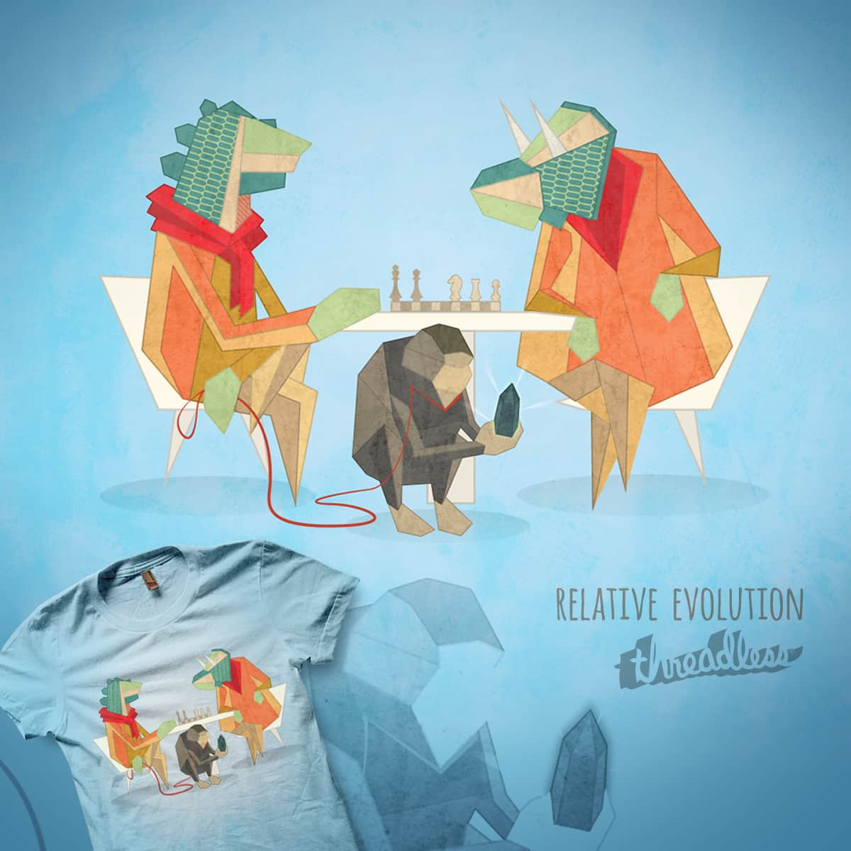 Relative Evolution by Tony.Spinotti on Threadless