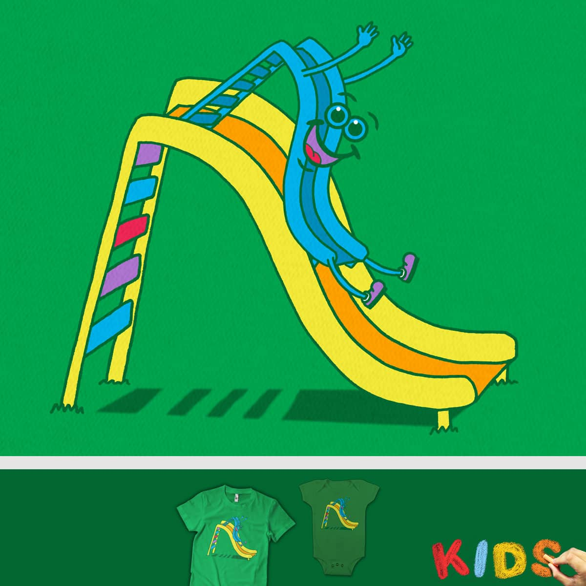 Slide Fun by SteveOramA and rossmat8 on Threadless