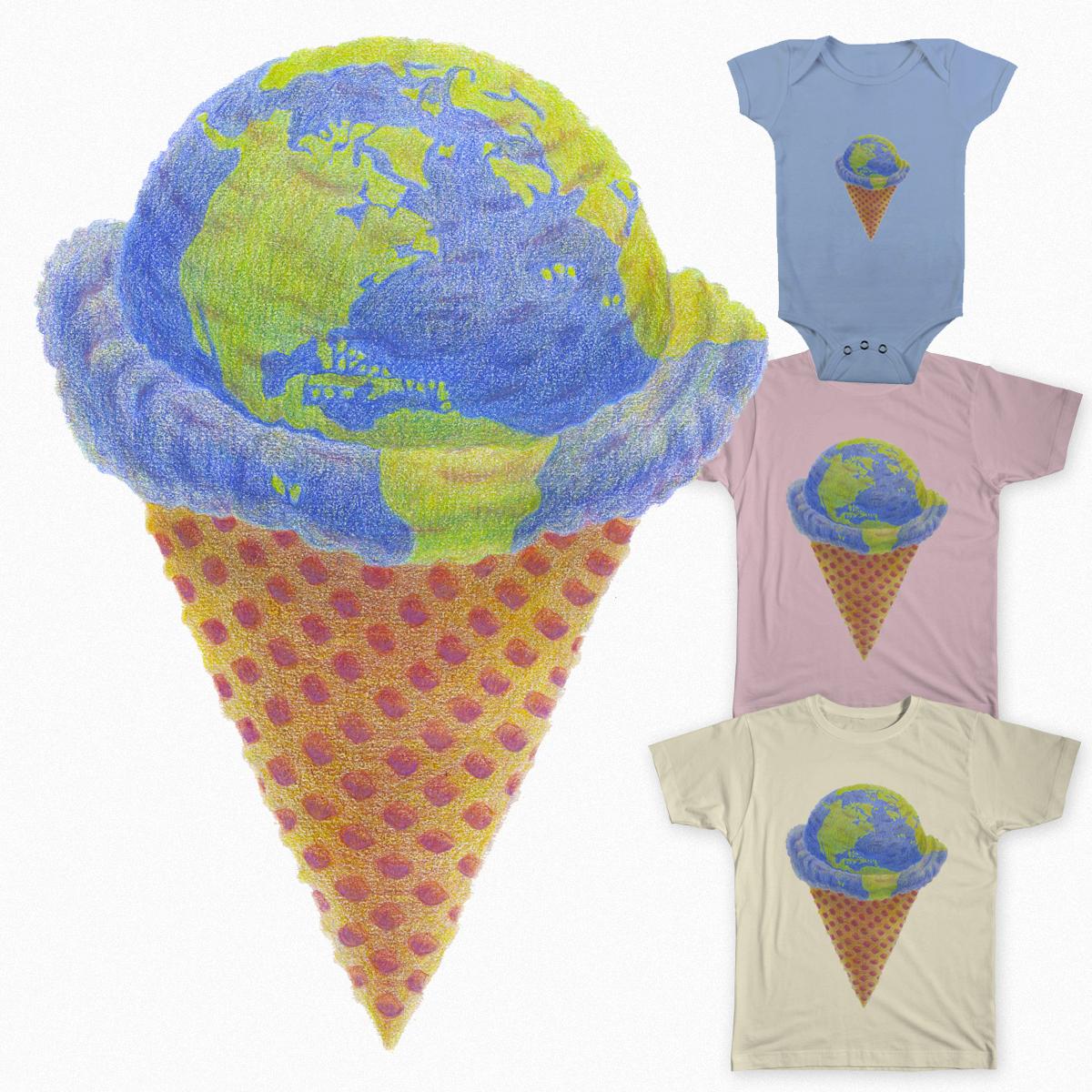 Earth Cream by mintkirai on Threadless
