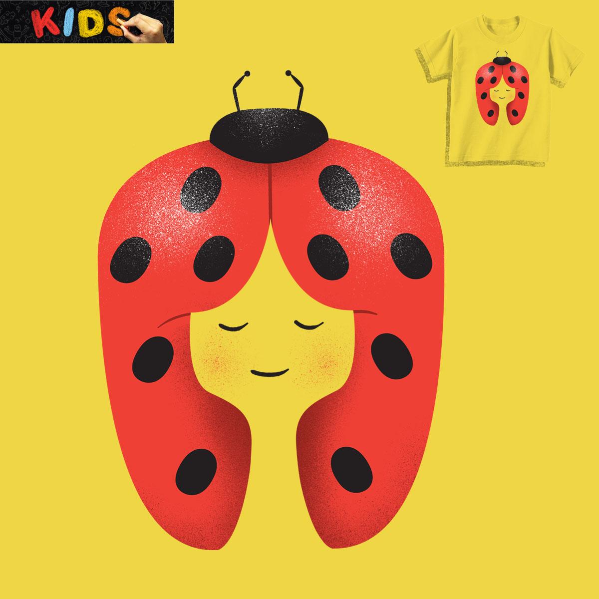 Ladybug by Wharton on Threadless