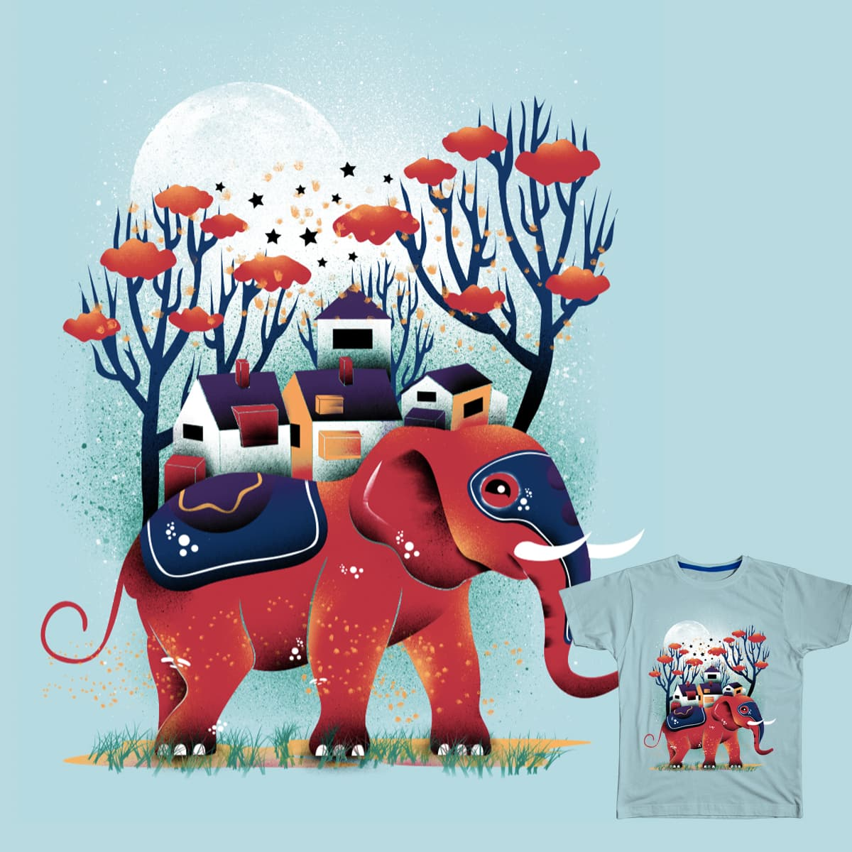Colorful Ride by dandingeroz on Threadless