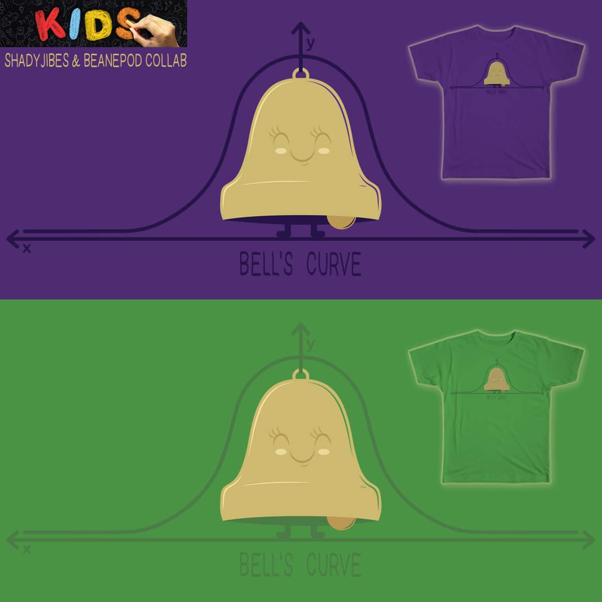 Bell's Curve by BeanePod and Shadyjibes on Threadless
