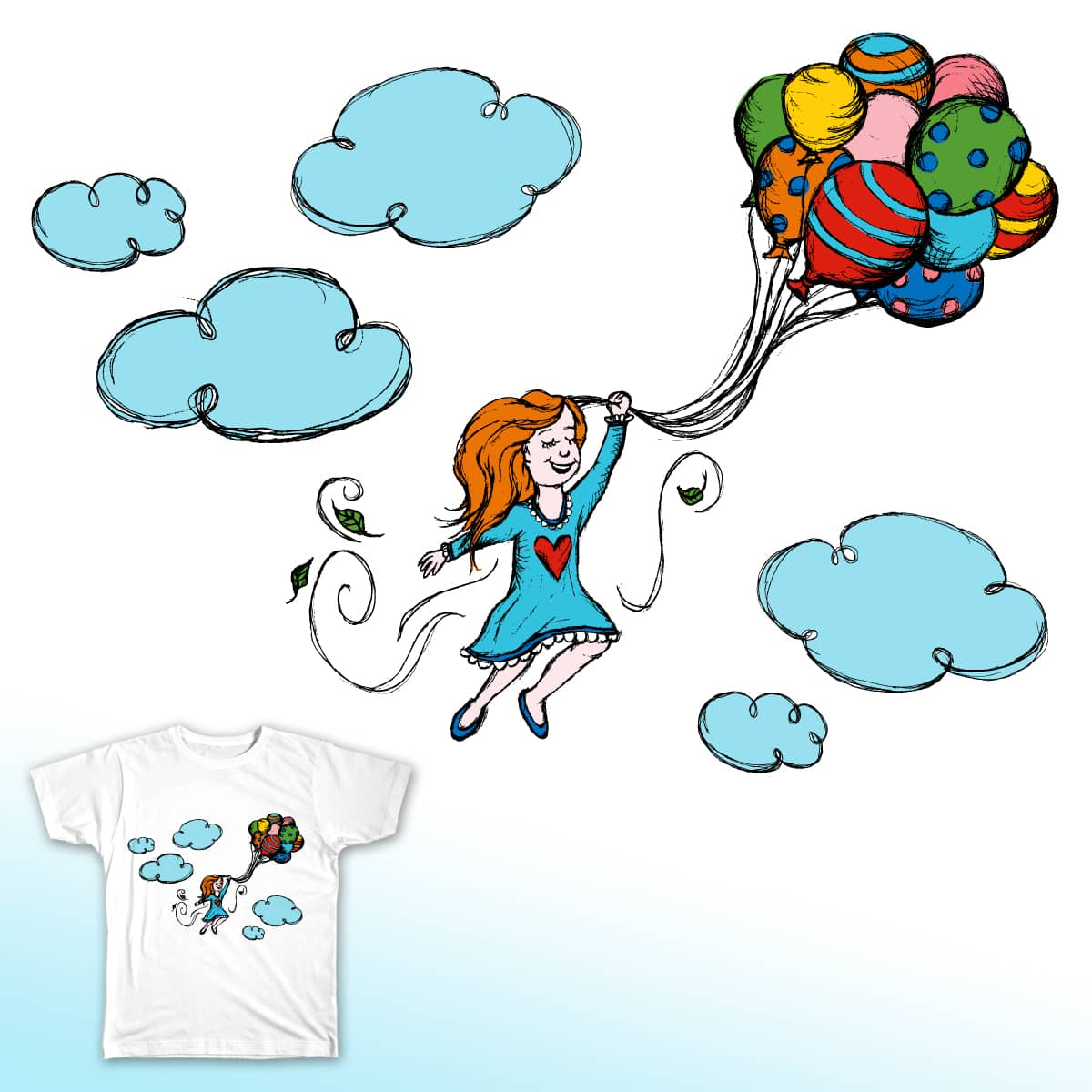 Fly Away! by UltimateBoomDesign on Threadless