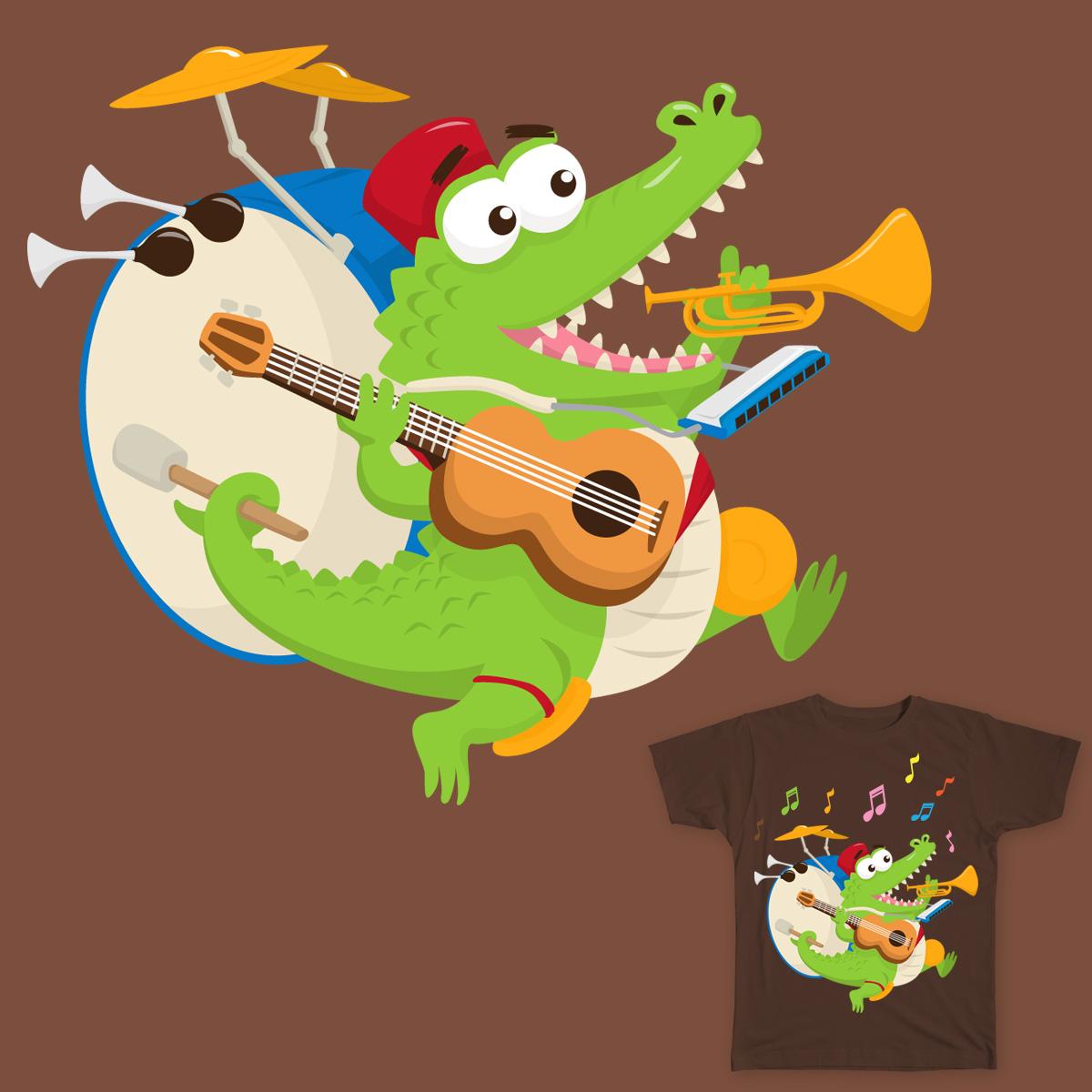 One Gator Band by b4kp4u on Threadless