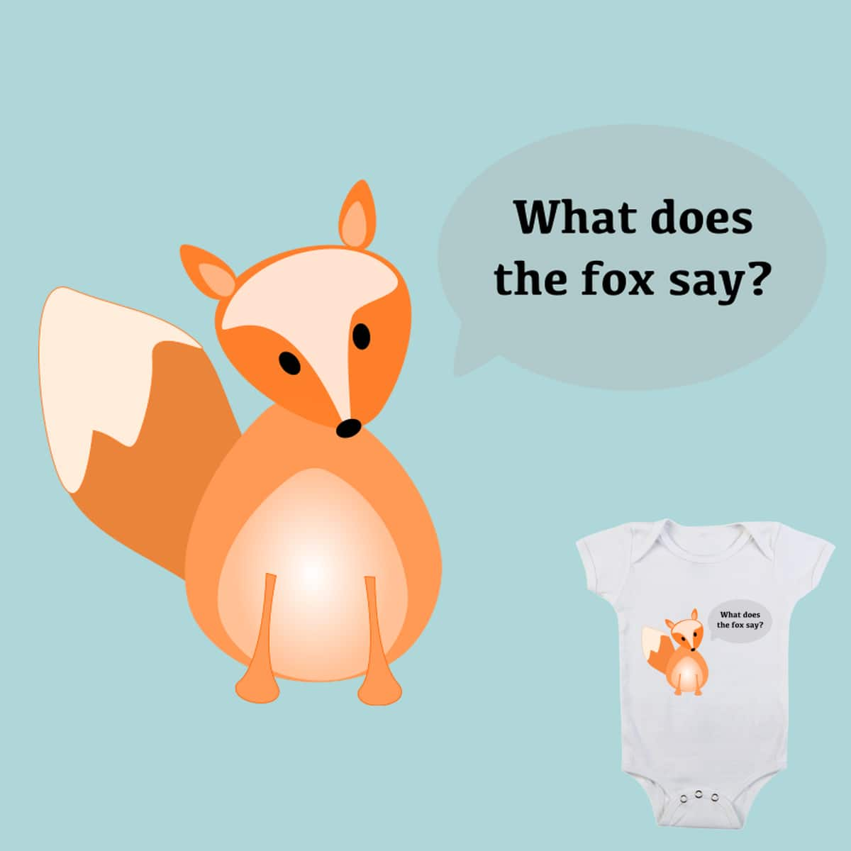 What Does The Fox Say? by became_an_astrophysicist on Threadless