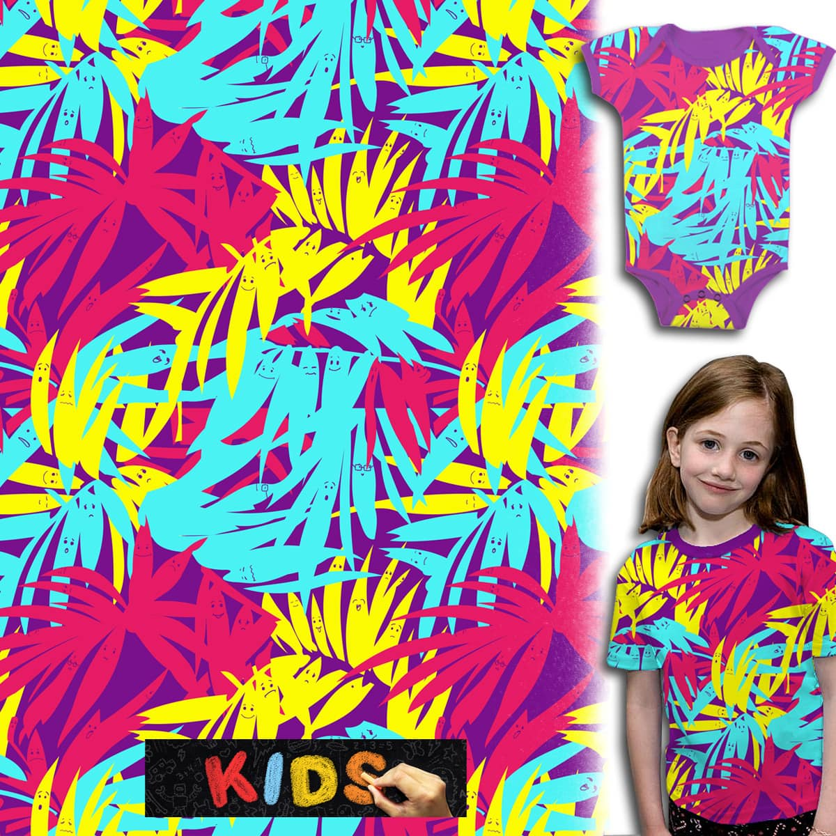 Tropical buddies by opippi on Threadless
