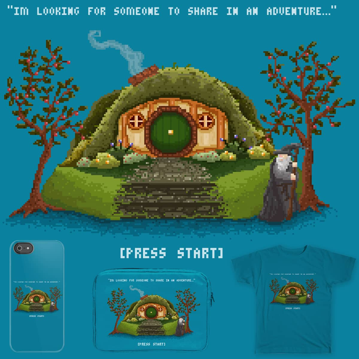 Share in an Adventure by RoseMakesArt on Threadless