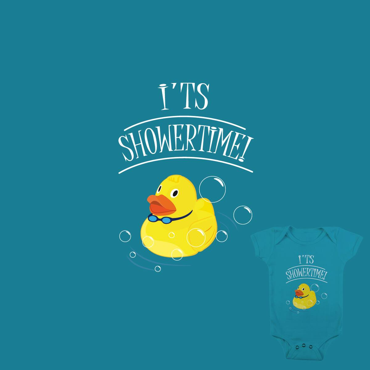 Score It\'s Showertime by D.fOx on Threadless