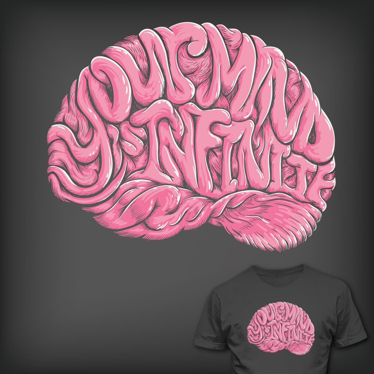 Your Mind is Infinite by jcastillo81 on Threadless