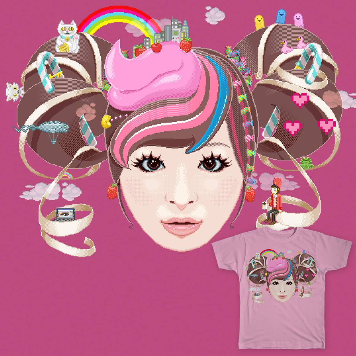 Kyary Pixel Pamyu by Kaeruntastico on Threadless